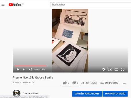 Un premier Live en direct à l'Atelier de la Grosse Bertha
