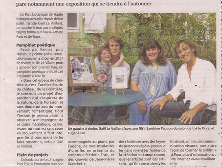 Aujourd'hui dans la presse...de Fougères