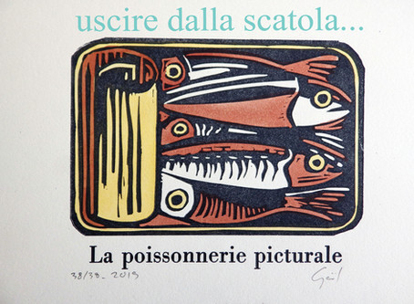 6000 sardines et seulement 8 gravures grands formats...