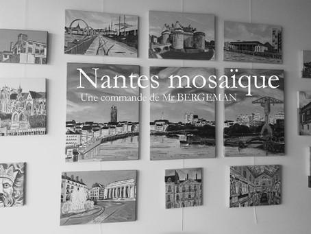 Voir en couleurs, une mosaïque...de Nantes
