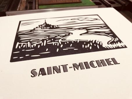 Mont Saint Michel au musée de l'imprimerie de Nantes