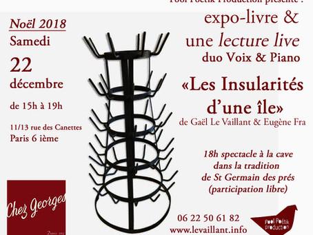 Les Insularités...à Paris!