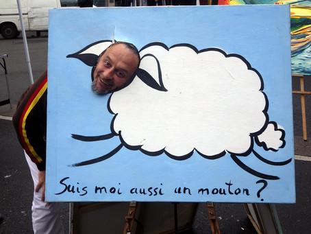 Suis-je moi aussi un mouton? L'art est la question...