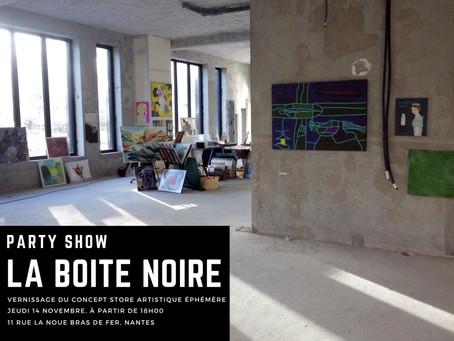 Concept store artistique éphémère...d'Arty show