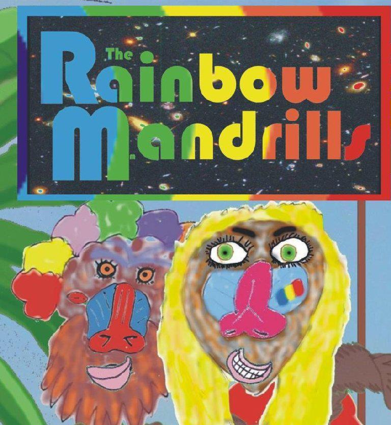Rainbow Mandrills