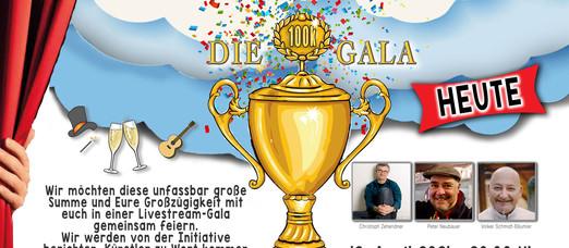 Zaubern für die 100.000,-€ Gala