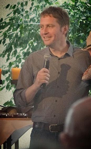 Christian Pestel- Pastor der Baptistengemeinde Weinheim