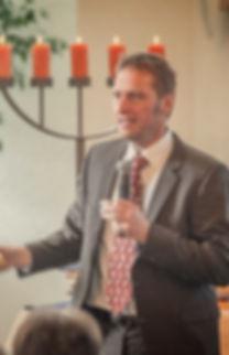 Christian Pestel-Pastor der Baptistengemeinde Weinheim