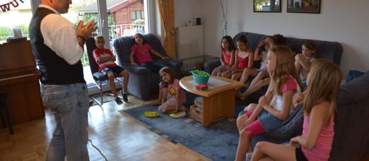 Kindergeburtstag in Dielheim mit Adrenalin-Faktor