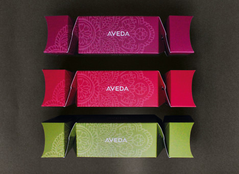 Aveda Promotional Christmas Cracker