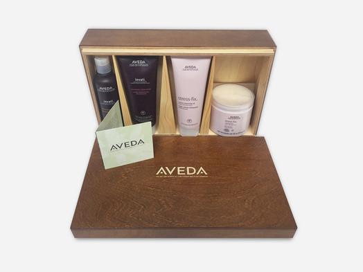 Aveda Middle East gift presentation box