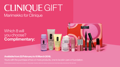Clinique Gift Collateral Autumn 2018
