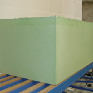 PUF blocks/slabs