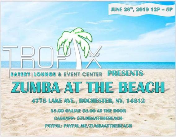 Zumba at the Beach