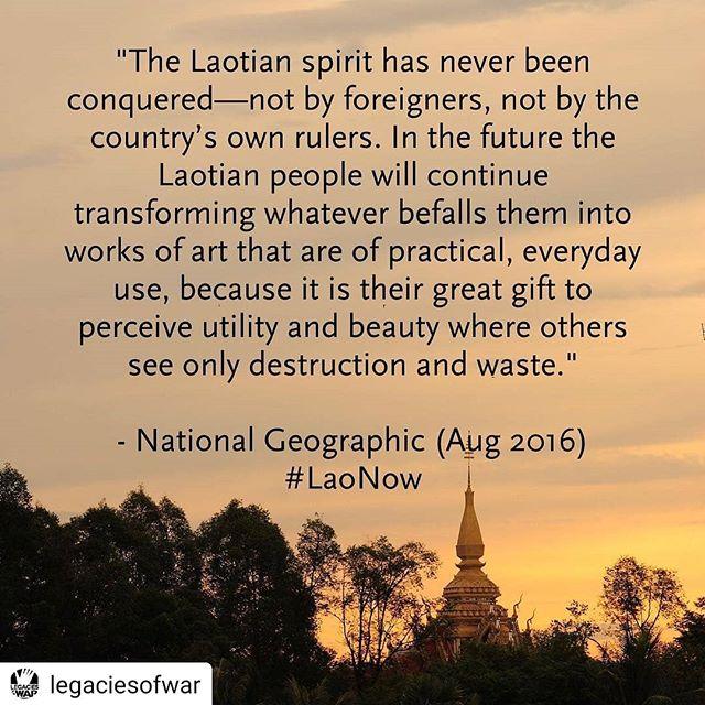 #Repost _legaciesofwar_• • • • •_The Lao