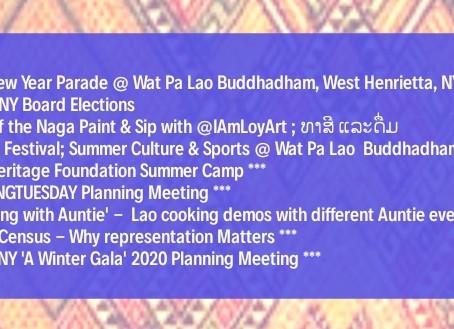 LAO UNY 2019 Event Calendar