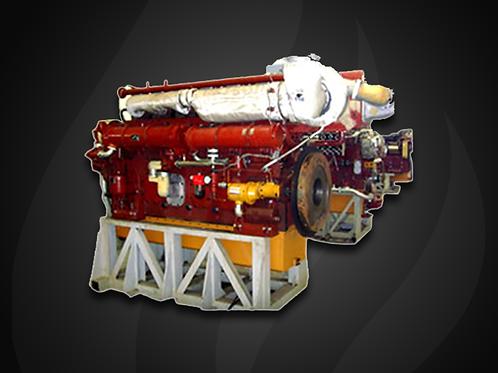 Modelo Heavy-oil - Motor Marítimo Jichai Diesel (380~720 KW)