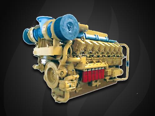 Modelo 6000 - Motor Marítimo Jichai Diesel  (700~2200 KW)