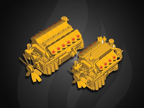 Modelo 140 - Motor Industrial Jichai Diesel (427~14KW)