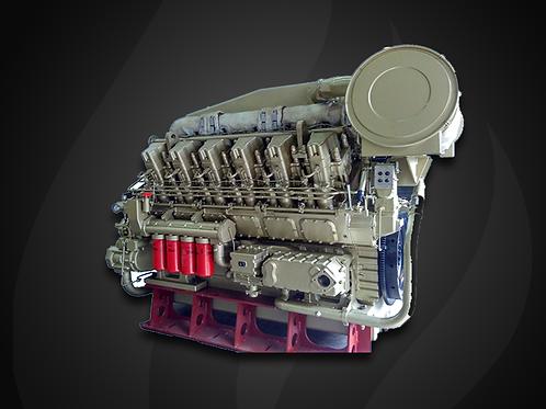 Modelo Long-stroke  4000 - Motor Marítimo Jichai Diesel (1000, 1200 KW)
