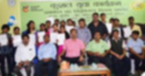Samidha group certifcate distribution program
