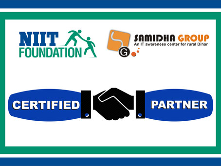 MoU Singed with NIIT-Foundation