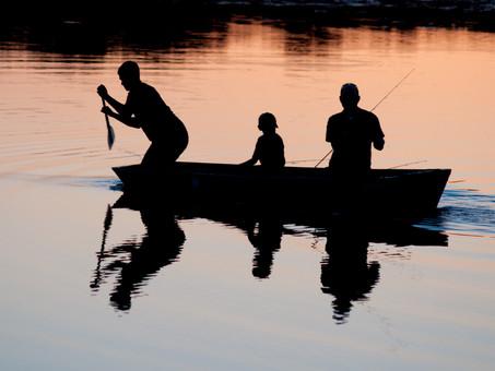 I Jornada Pesca en Barca de la Escuela de Pesca Madrid