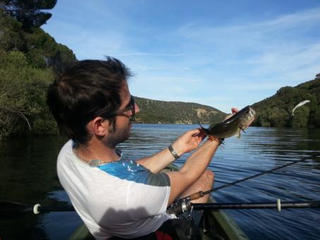 """Concurso Jornada de pesca """"en familia"""" 9/10 Julio en kayak."""
