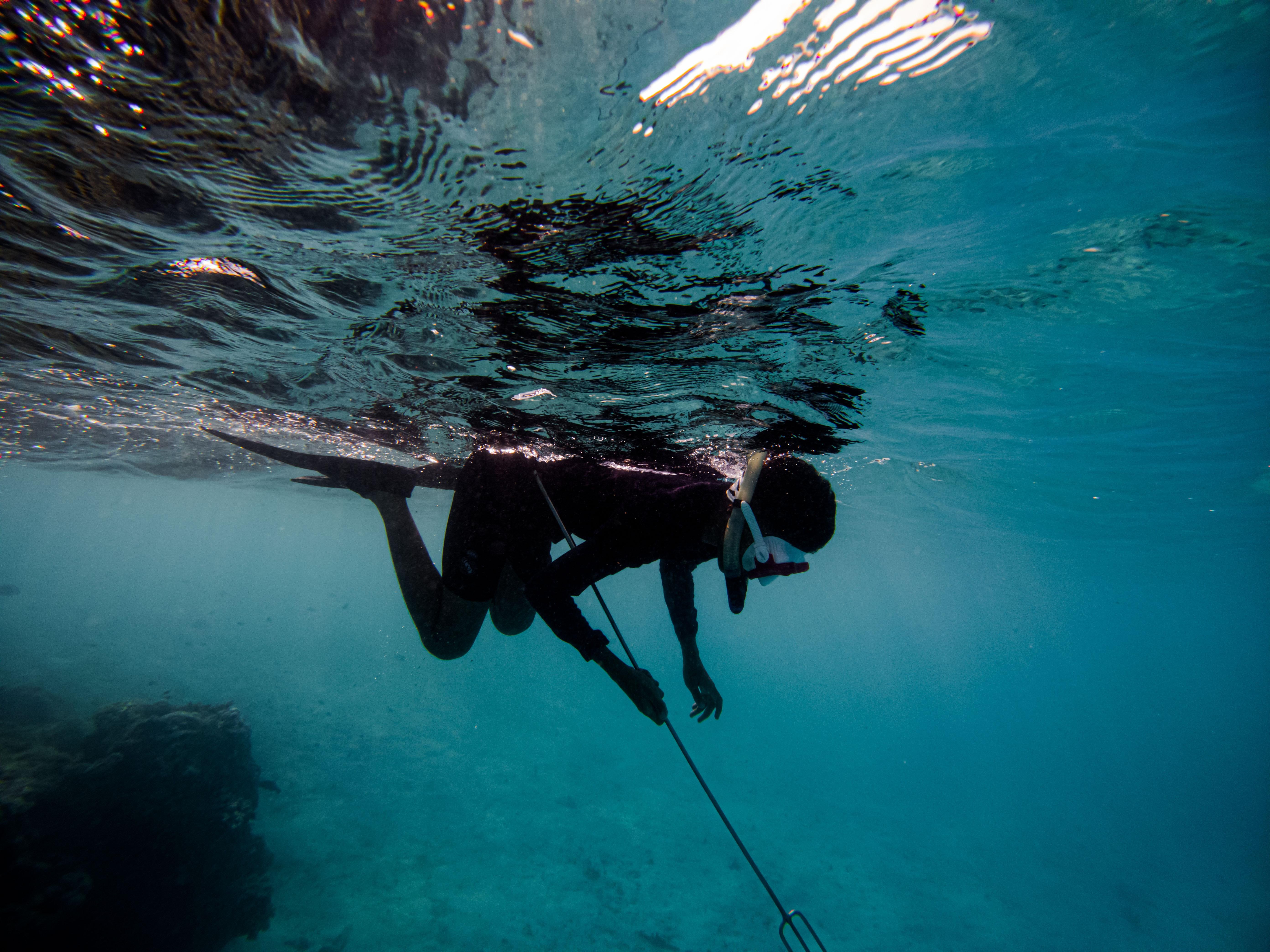 Pesca Submarina y apnea. Max 2 personas