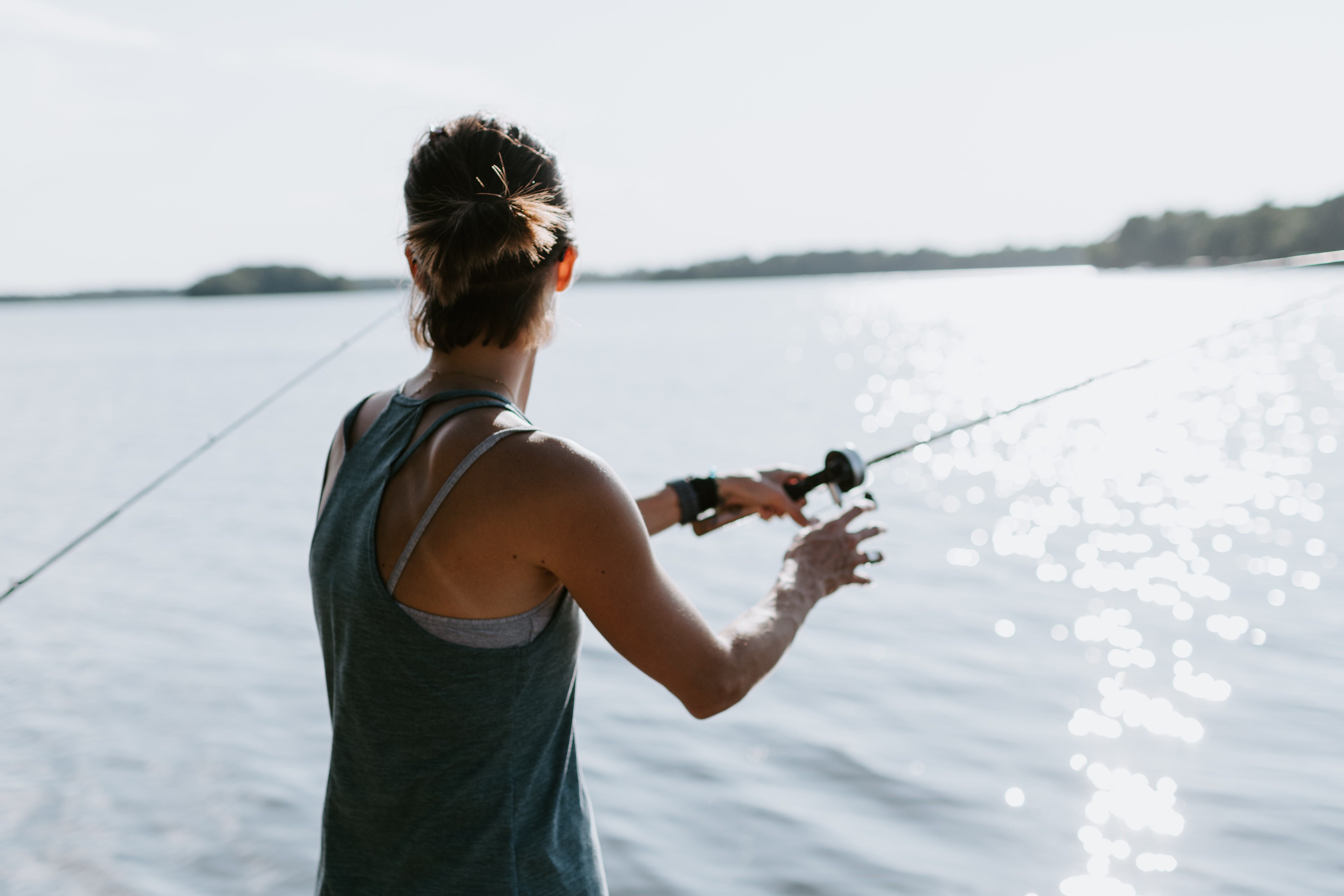 Pesca iniciación y perfeccionamiento