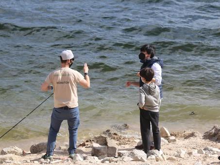 Aprendiendo a pescar en Madrid