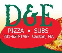 D & E Pizza