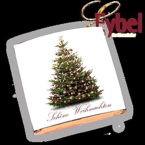 """Nougat Busserl """"Schöne Weihnachten"""" 5Stk/200g"""