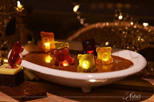 Fruchtsaft Bären 12fach sortiert in Schokolade 200g