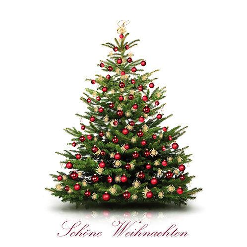 """Grusskarte """"Schöne Weihnachten"""""""
