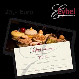 Gutschein 25 EUR per Post