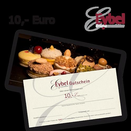 Gutschein 10 €ur per Post