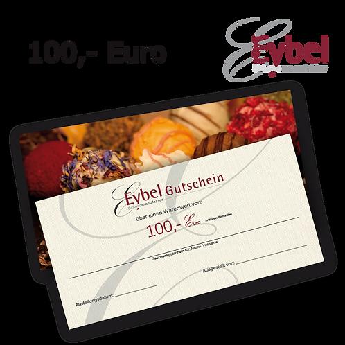 Gutschein 100 EUR per Post