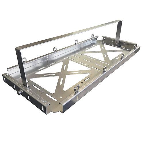 Sicherheits-Dachhalterung für Transportkisten