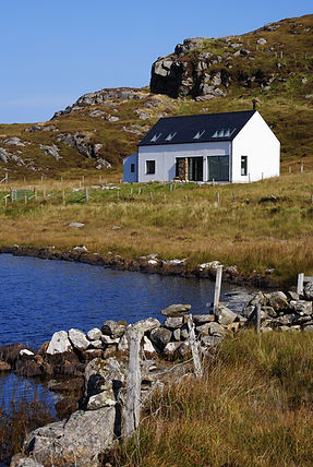 Lochj house on Bernera