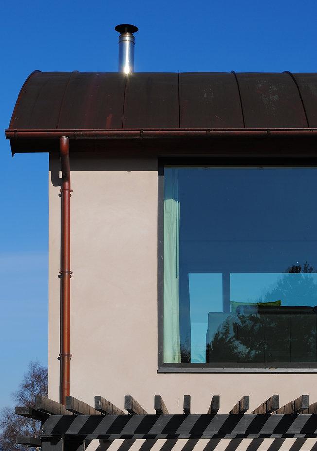 POrteous architecture house at Nairn Velfac windows