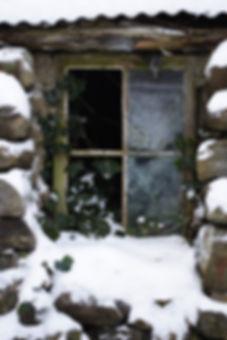 Porteous Architects Isle of Harris Hebrides shed window