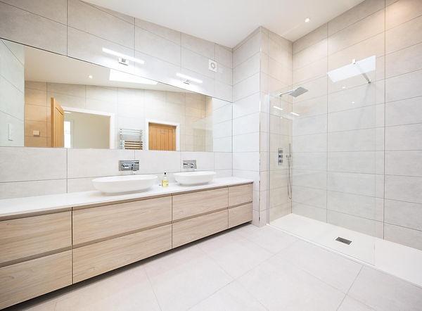 bathroom shower modern