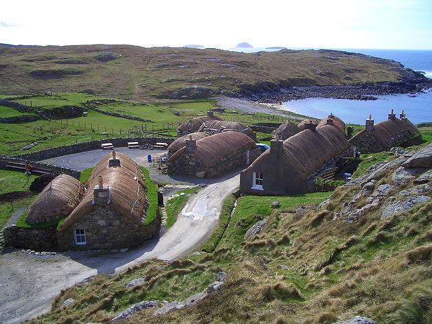 Blackhouse Village Isle of Lewis