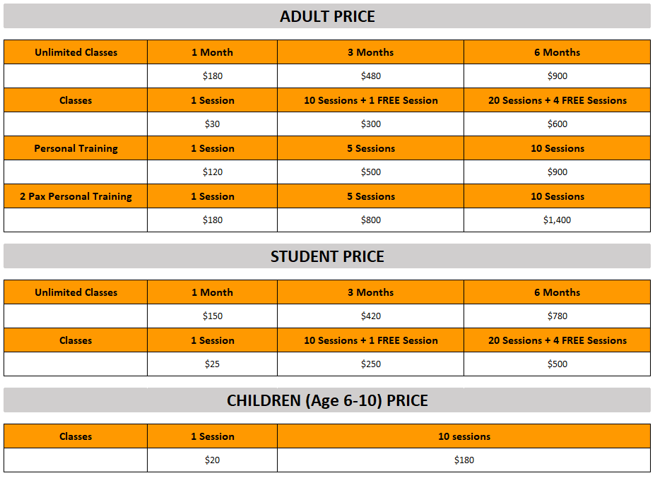 Ghetto Fitness Price List.PNG