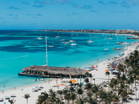 Most beautiful beaches in Aruba