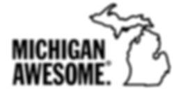 Michigan Awesome logo with State High Re