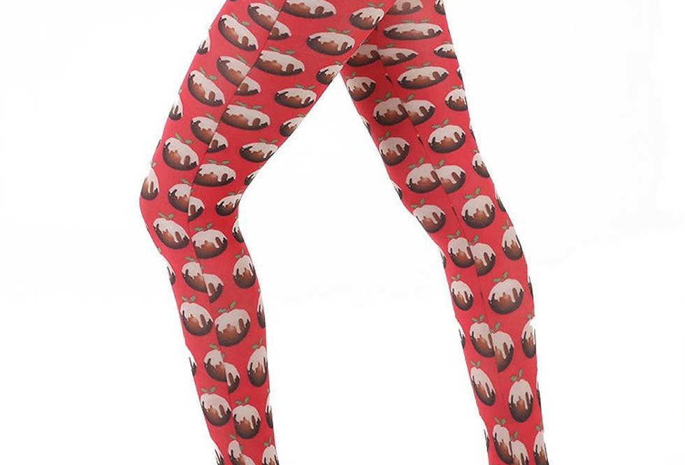 Red Puddings Tights for Women