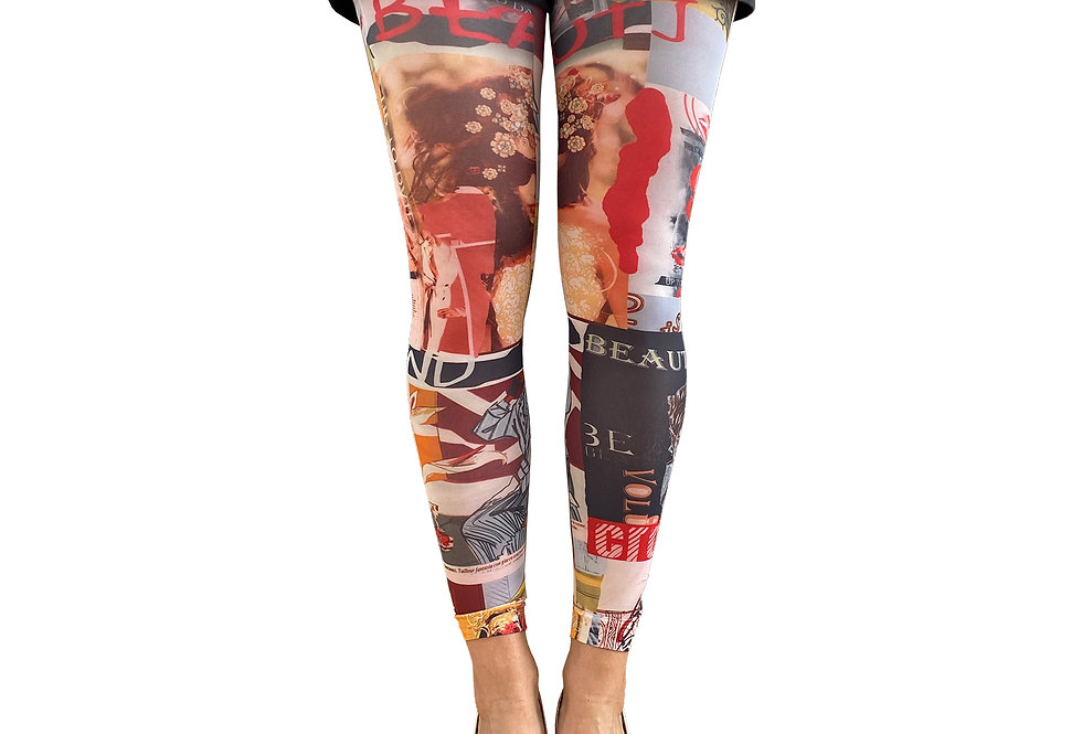 Paris Footless Tights For Women Malka Chic