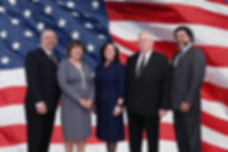 GT City Council with US Flag__  Backdrop